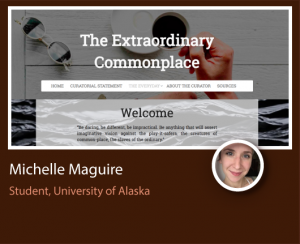 Michelle Maguire ePortfolio screenshot