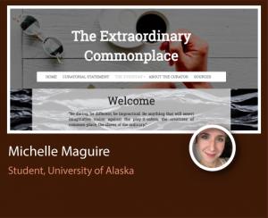 Michelle Maguire ePortfolio screenshot