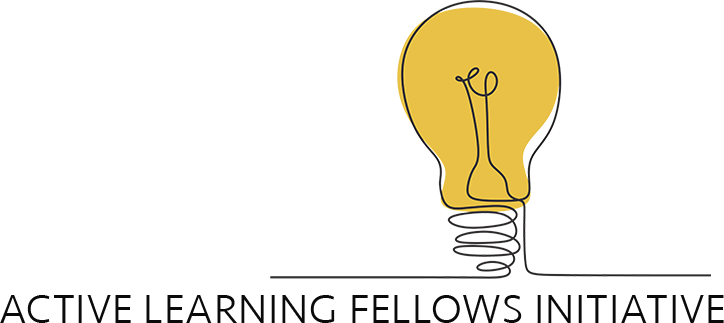 Active Learning Fellows Initiative logo of yellow lightbulb